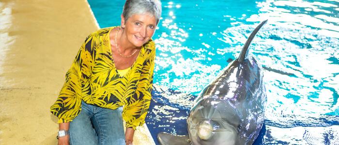 Ga op de foto met een dolfijn na elke show bij Boudewijn Seapark!