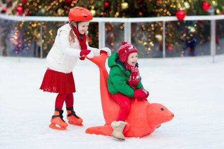 Overdekt schaatsplezier op de ijsbaan van Boudewijn Seapark Brugge!